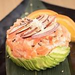 tartare salmone liscia